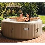 Intex 120 Bubble Jets Four-Person Round Portable Inflatable Hot Tub Spa ($389)
