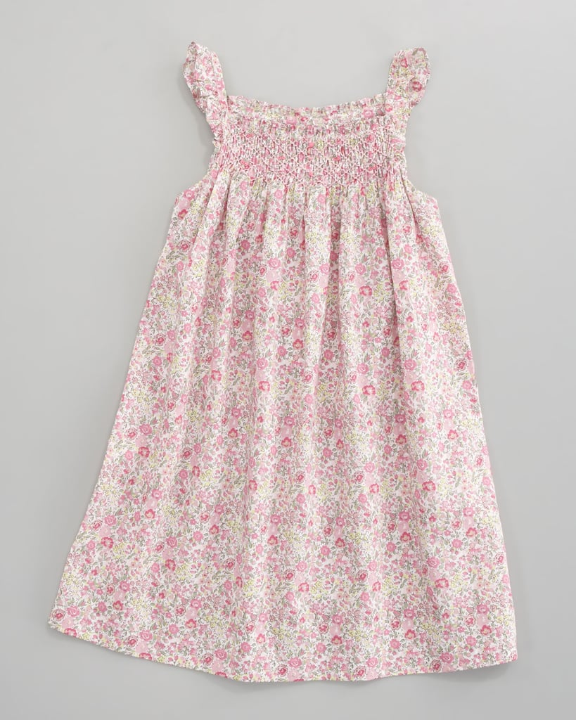 Tartine et Chocolat Tilt Floral-Print Smocked Dress