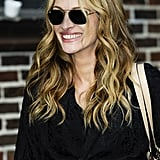 Julia Roberts at The Late Show