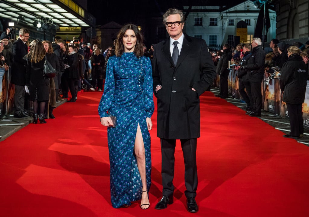Rachel Weisz and Colin Firth at The Mercy London Premiere