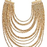 Jasmine: Karine Sultan Joan Beaded Multistrand Necklace
