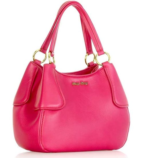The Bag To Have: Miu Miu Hot Pink Rounded Tote