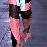 Marques'Almeida Shoes on the Runway at London Fashion Week