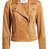 BB Dakota Not Your Baby Faux-Suede Moto Jacket