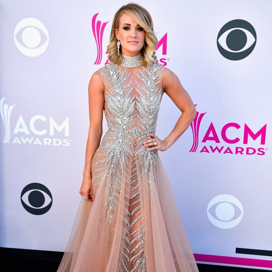 Carrie Underwood at the 2017 ACM Awards