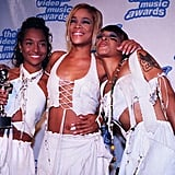 "TLC won four awards for their ""Waterfalls"" video in 1995."