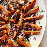Roasted Sweet Potatoes With Balsamic Onion Jam
