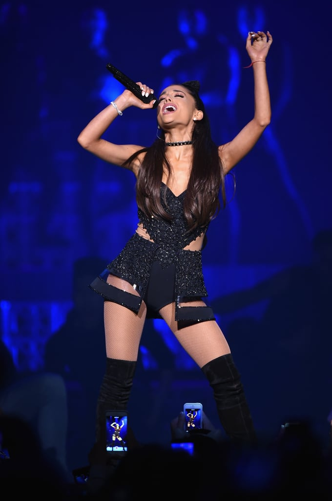 Sexy ariana grande pictures popsugar celebrity photo 77 - Ariana grande concert madison square garden ...