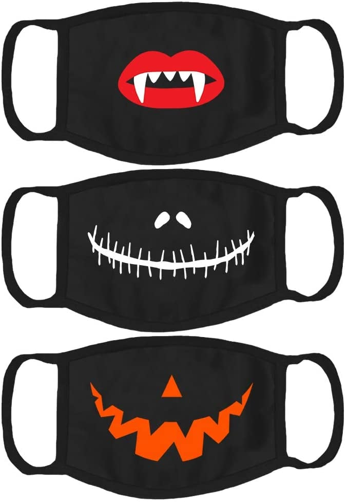 Halloween Cloth Face Mask Set of 3
