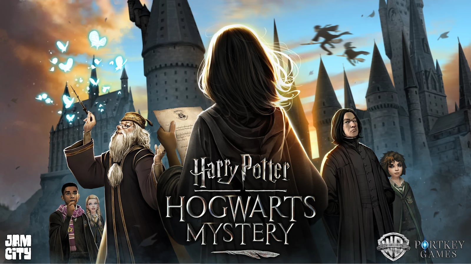 Here's a first look at the new Harry Potter mobile game