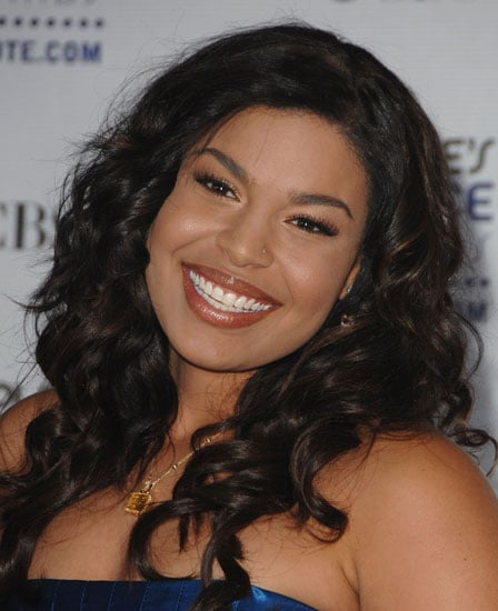 Jordin Sparks' 2009 People's Choice Awards Hair and Makeup