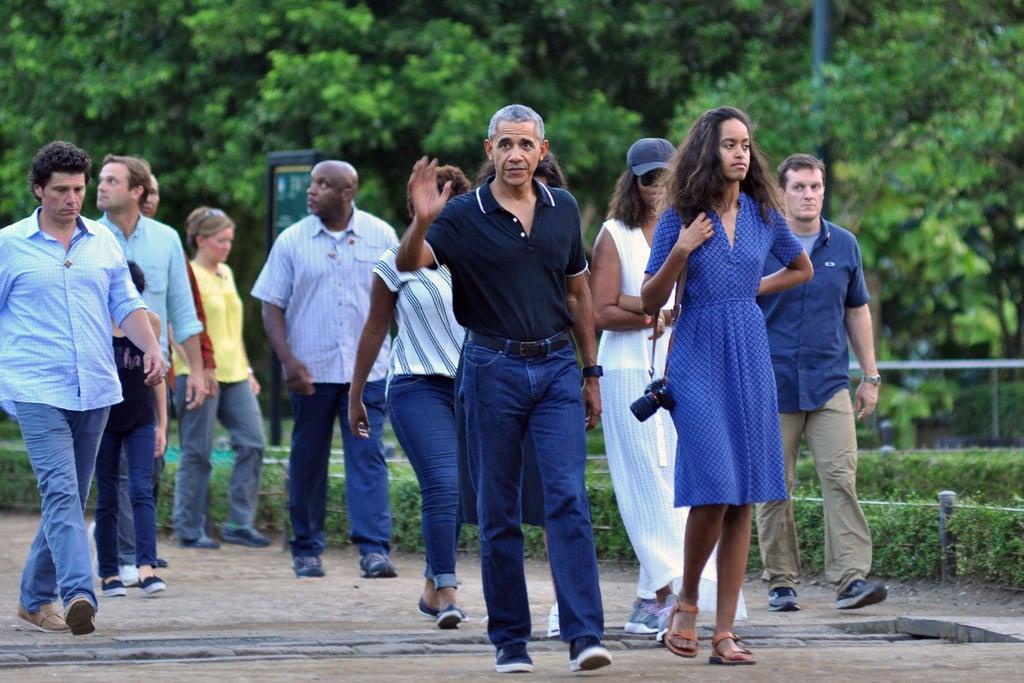 barack obama and family 2017 - photo #10