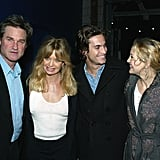 Kurt Russell and Goldie Hawn Family Pictures