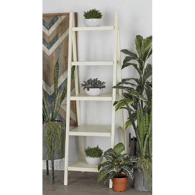 A Chic Storage Solution: Grayson Lane Wood Decorative Shelves