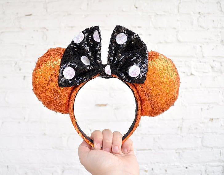 Halloween Mickey Ears Halloween Ears Halloween Disney Ear Orange Mickey Ears
