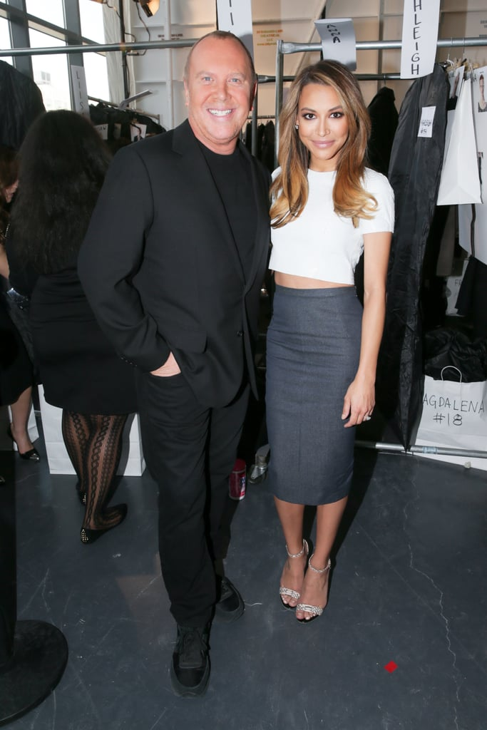 Michael Kors and Naya Rivera