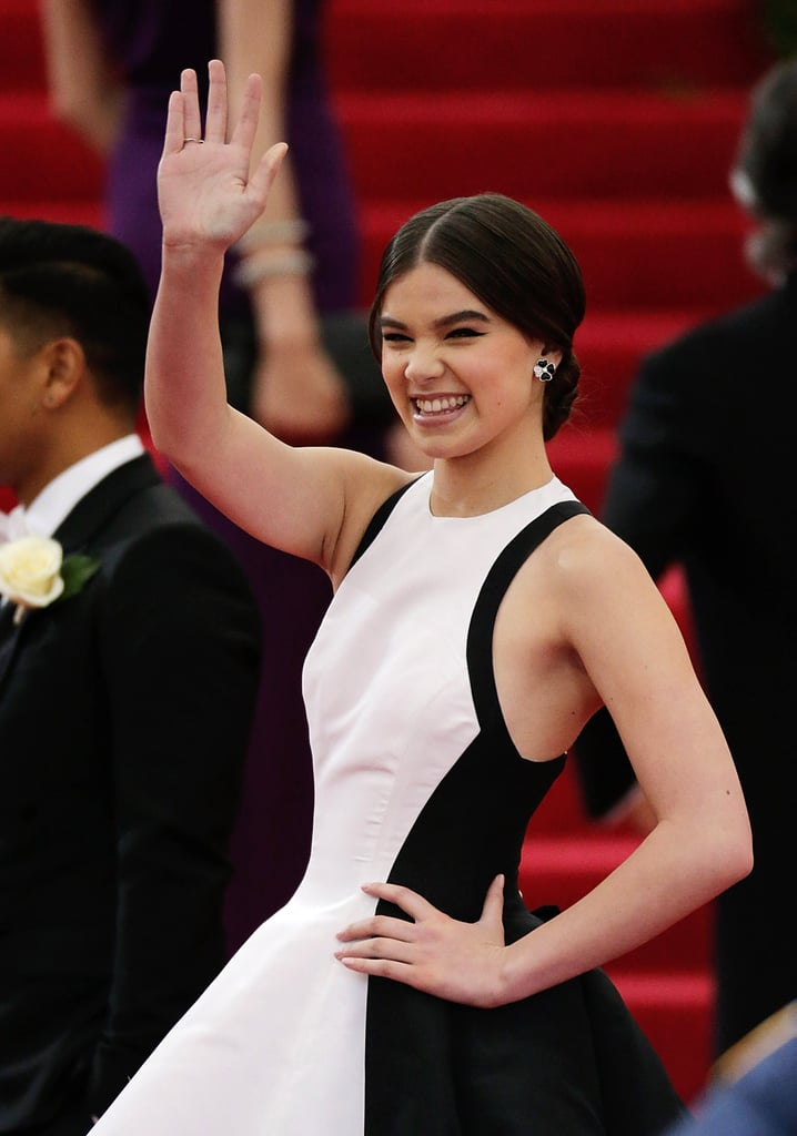 Hailee Has Worn Clip-On Earrings to Events