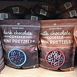 Trader Joe's Dark and Milk Chocolate Covered Mini Pretzels ($3)