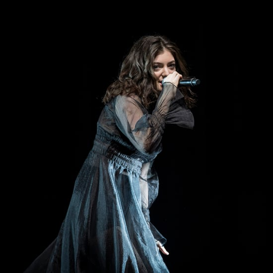 Lorde at the 2017 ARIAs