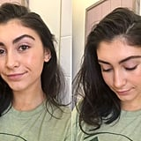 Dirty Hair Before Billie Floof Dry Shampoo