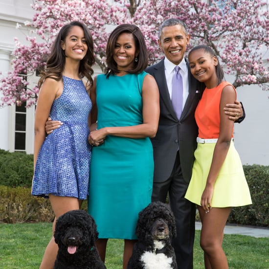 See Michelle Obama's Sweet Father's Day Tribute For Barack