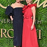 Stella McCartney and Annabelle Wallis
