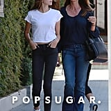 Cindy Crawford and Kaia Gerber Out in LA May 2016