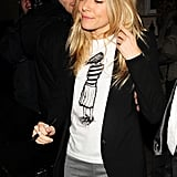 Sienna Miller Wears Her Single Status on Night Out With Tom Sturridge