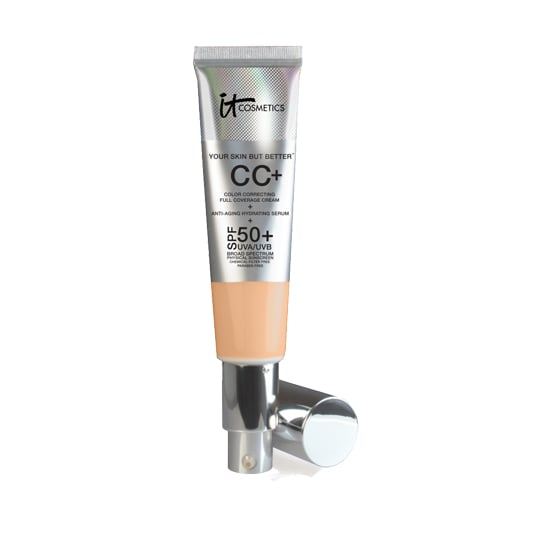 While most CC creams have just enough sunscreen, the It Cosmetics CC+ ($35) has SPF 50 for serious protection.
