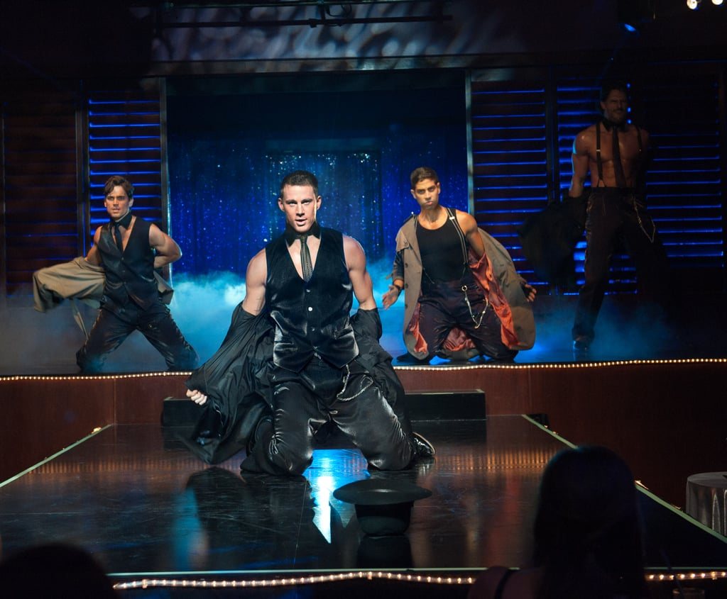 Channing Tatum stripped in 2012's Magic Mike.