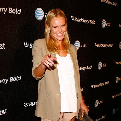 Kate Bosworth Parties for BlackBerry