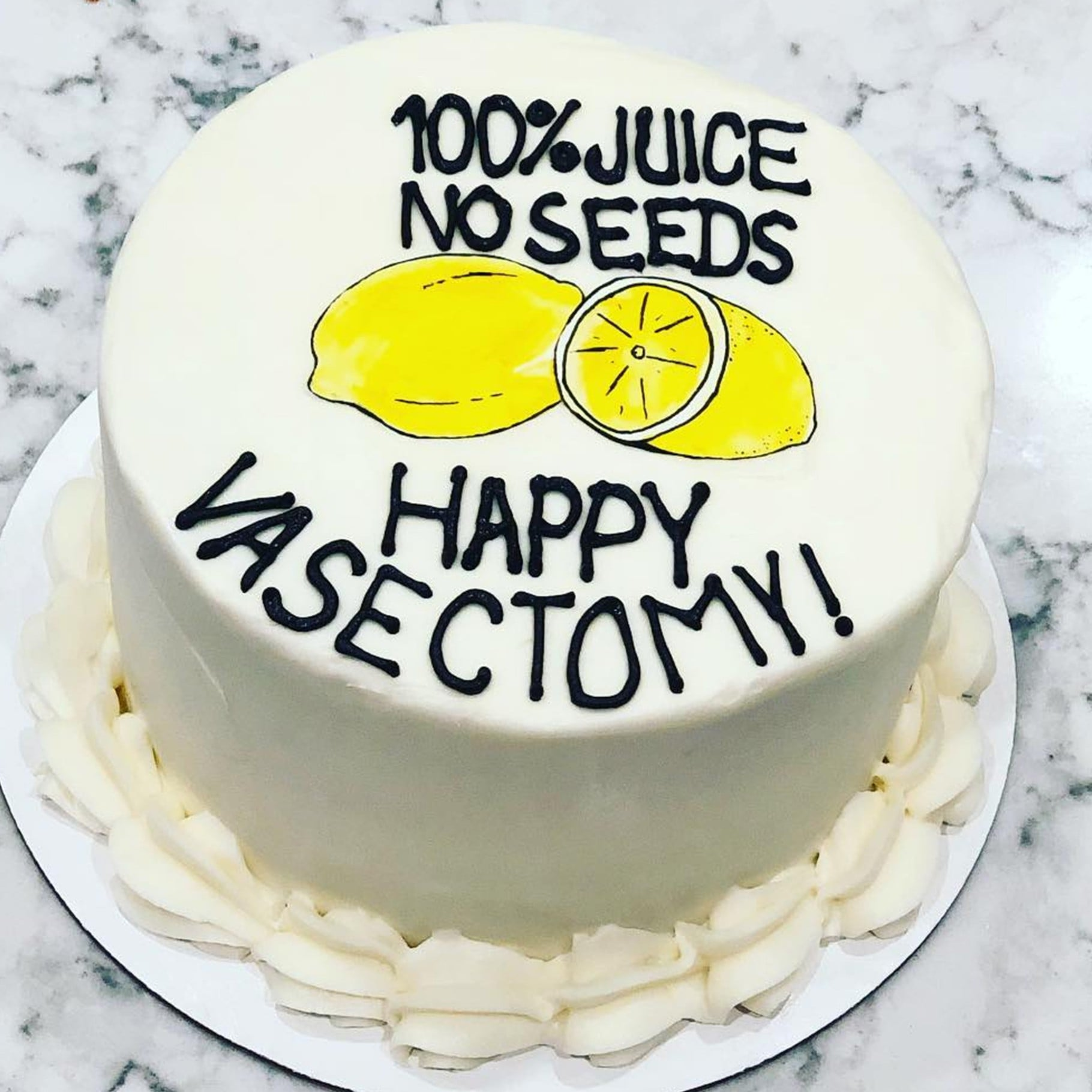 Vasectomy Cake Ideas