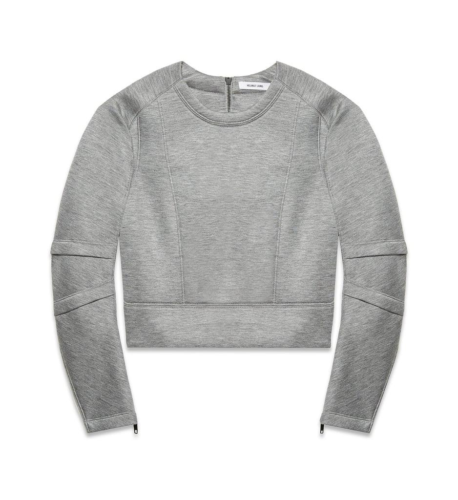 Helmut Lang Sponge Fleece Crew Neck Sweatshirt