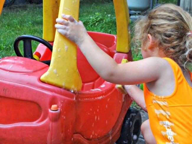 Have a Kids' Car Wash