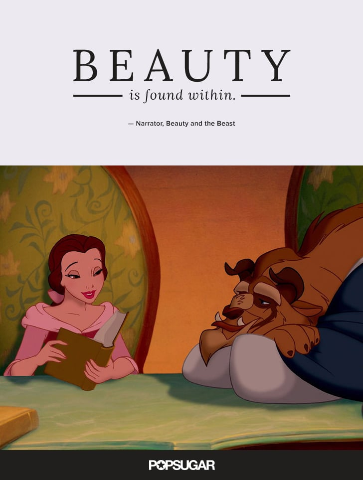 Beauty is found within best disney quotes popsugar smart narrator beauty and the beast voltagebd Image collections