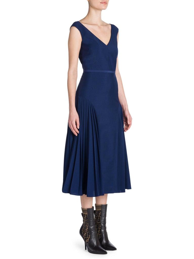 Fendi Mohair-Blend Cocktail Dress