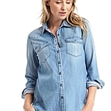 Gap Maternity Tencel Shirt