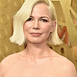 Michelle Williams's Wavy Bob With Blunt Ends at the Emmys 2019