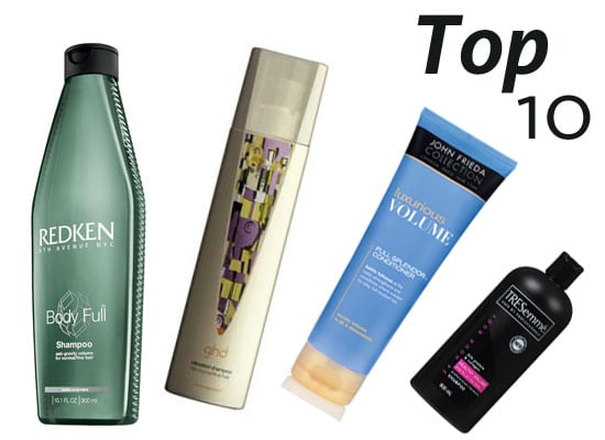 10 of the Best: Volume-Enhancing Shampoo and Conditioners!
