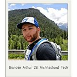 Branden Arthur, 28, Architectural Tech