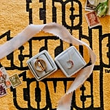 The Terrible Towel! This is a nod to the very memorable scene in the first episode where Jack waits for Rebecca wearing only a towel. The moon necklace (identical to Rebecca's version on the show) is from Layered and Long.
