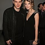 John Mayer posed for a photo with Taylor Swift at the NYC launch party for VEVO in 2009.