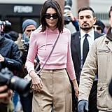 Kendall Channeled a '90s Mom in Her Pink Hoodie