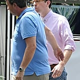 Ed Helms got into character for The Hangover Part III.