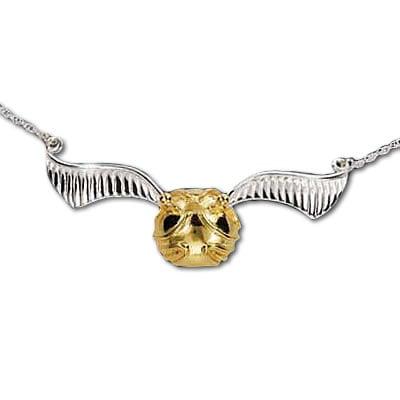 Quidditch Golden Snitch Necklace ($120, originally $150)