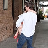 Tom Cruise With Suri First Time After Divorce