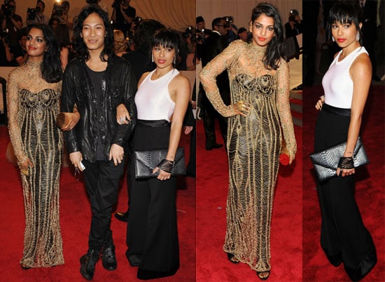 Pictures of Zoe Kravitz, Alexander Wang, and MIA at 2010 Met Costume Institute Gala