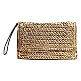 H&M Straw Clutch Bag