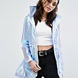 Iridescent Rain Coat