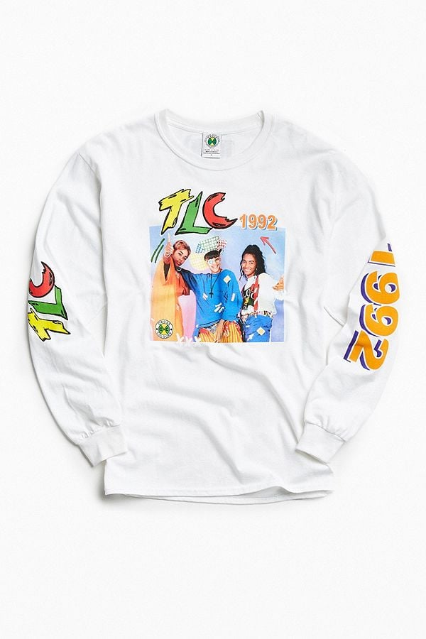 Cross Colours TLC 1992 Long Sleeve Tee